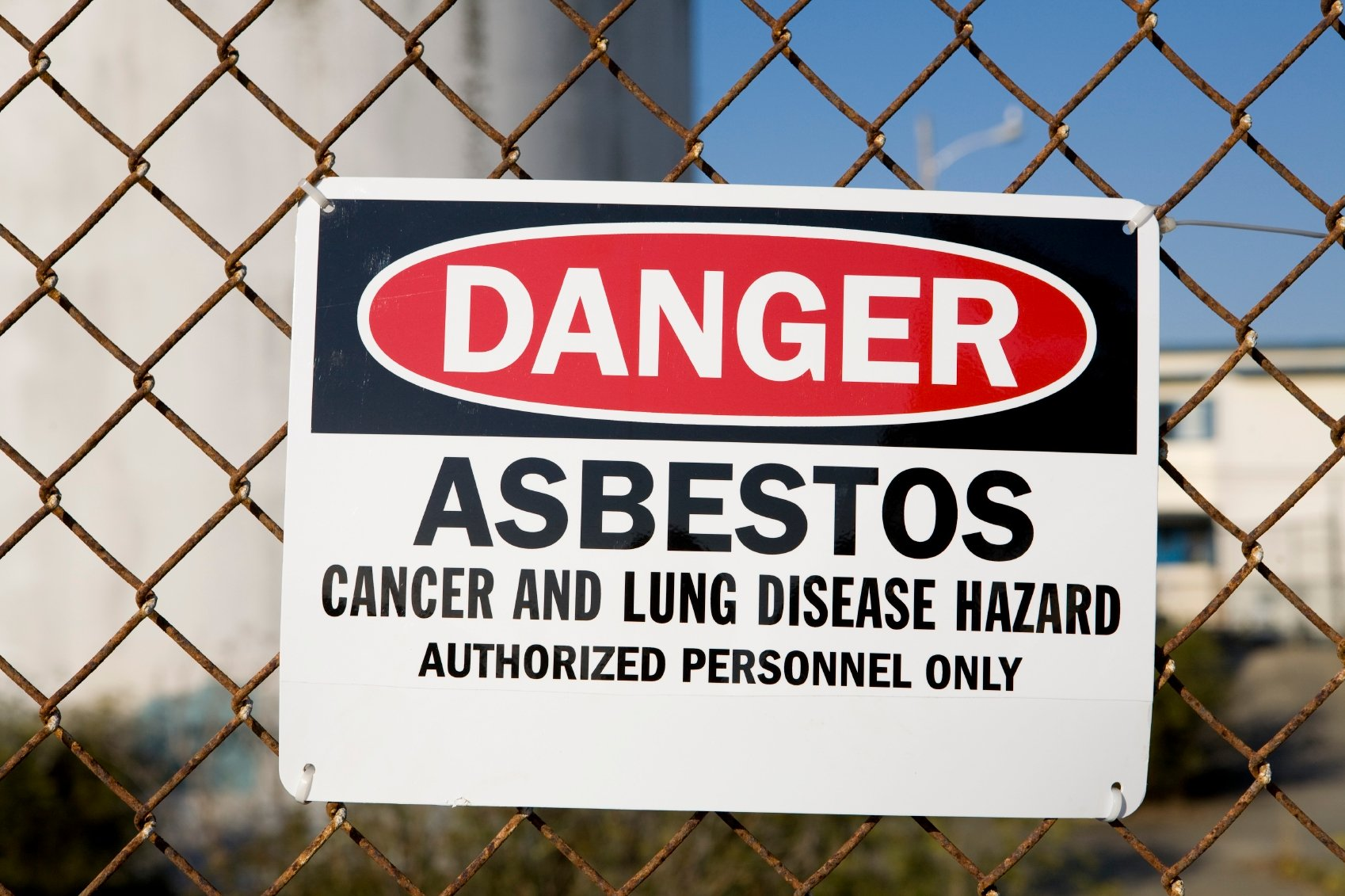 Hazardous Materials Management - Asbestos Warning